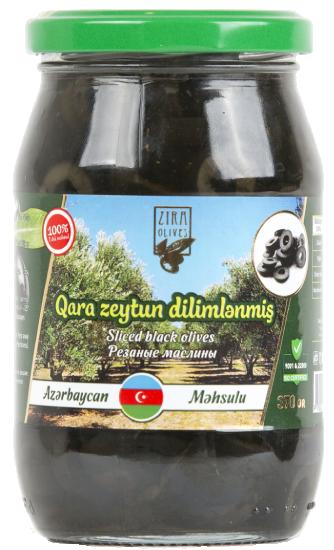 Qara Zeytun dilimlənmiş 370 qr