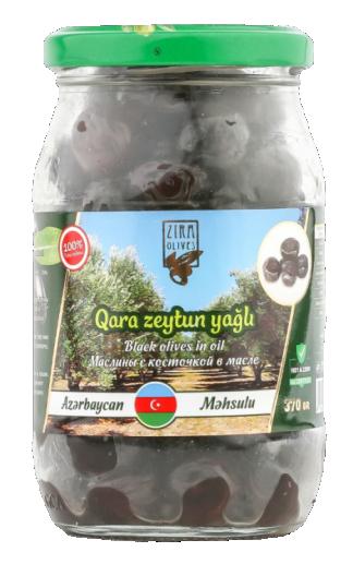 Qara Zeytun yağlı 370 qr
